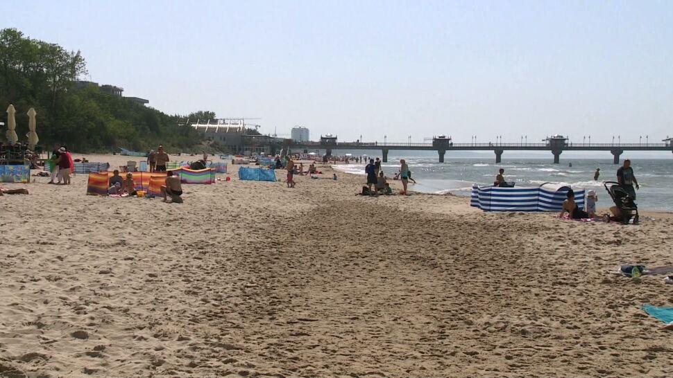 Wysokie temperatury w całej Polsce. Nad morzem było chłodniej