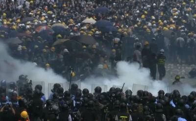 """Zamieszki w Hongkongu. """"Będzie nas coraz więcej"""""""