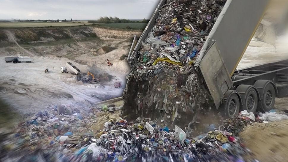 """""""Fakty"""" prześledziły trasę nielegalnego wywozu śmieci. """"Policja powinna zamknąć ten cały biznes""""."""