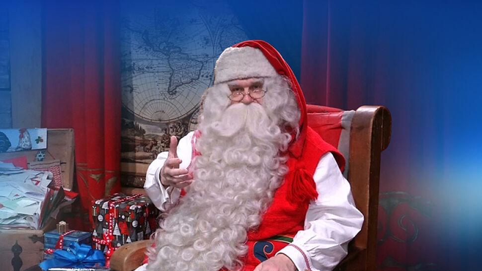 """Życzenia od Świętego Mikołaja z Laponii. """"Po deszczu zawsze wychodzi słońce"""""""