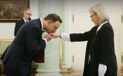 """Julia Przyłębska ósmym prezesem TK. """"Jest prezes, ale Trybunału już nie ma"""""""