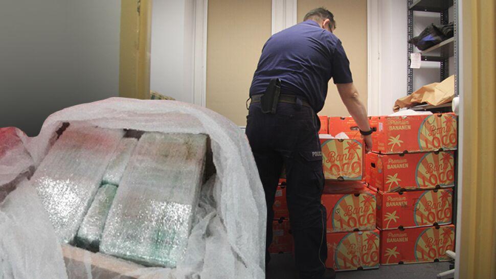 Łódź: policja powstrzymała tranzyt 386 kg narkotyków. Kokaina warta 80 mln zł miała trafić na zachód