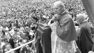 Beatification of Cardinal Stefan Wyszyński on June 7, 2020 in Warsaw