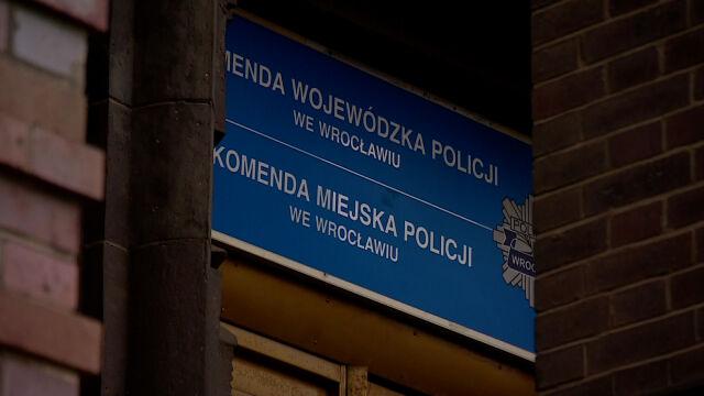 Szef policji o byłym komendancie z Wrocławia: złamał zasady etyczne