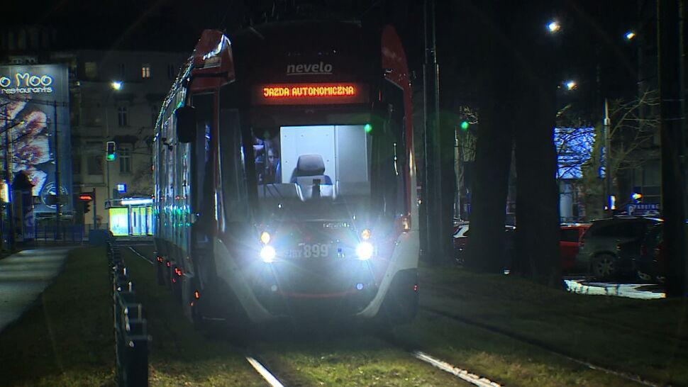 Kraków testuje tramwaj autonomiczny. Na razie wyjeżdża tylko w nocy
