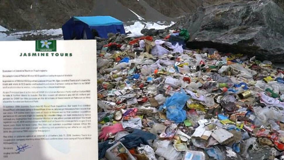 Śmieci spod K2 zostały posprzątane. Pakistańska firma potwierdza