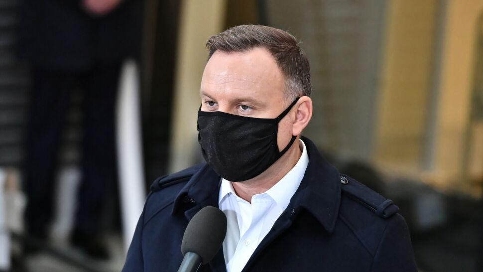 """Andrzej Duda zakażony SARS-CoV-2. """"Przebywa w izolacji"""""""