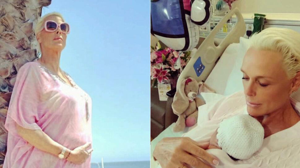 Aktorka Brigitte Nielsen w wieku 54 urodziła piąte dziecko