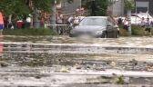 Połamane drzewa, zalane ulice. Załamanie pogody w Gdańsku