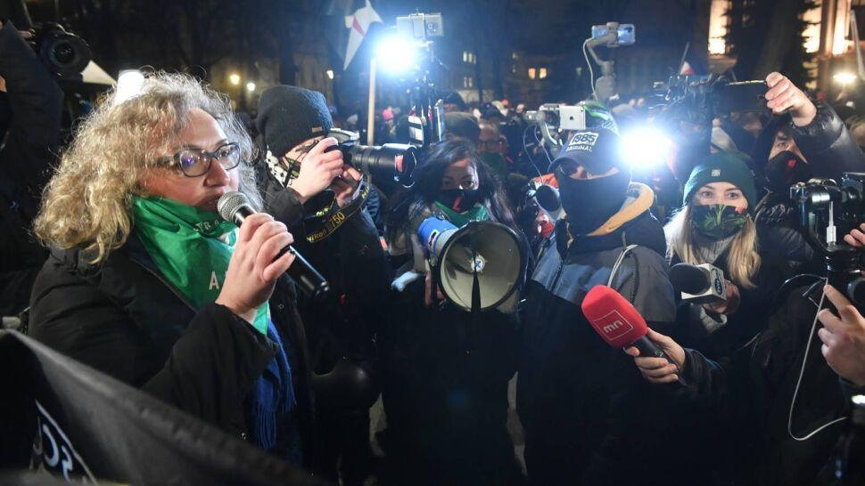 Wyrok TK opublikowany w nocy. Kolejne protesty Strajku Kobiet