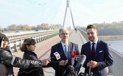 """Guział pisze o Warszawie """"odciętej od funduszy"""". Trzaskowski: to szantaż"""