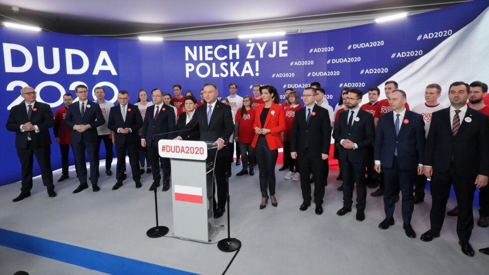 Mocny sztab i trudny start. Doświadczeni politycy pomogą w kampanii Andrzeja Dudy?