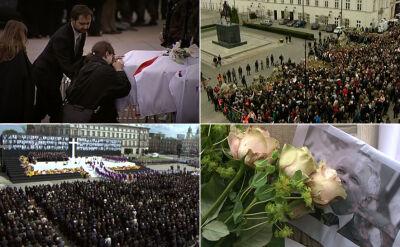 Tysiące Polaków wspólnie żegnały ofiary katastrofy smoleńskiej