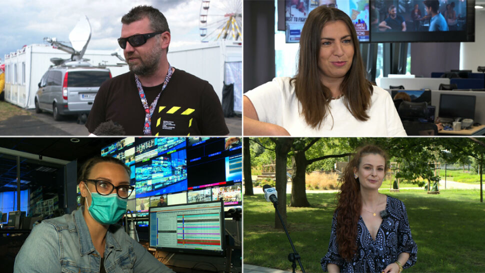 Wydawcy, operatorzy, montażyści - tak wygląda ich praca za kulisami TVN i TVN24