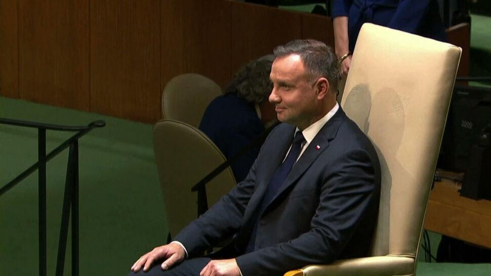 Andrzej Duda przemawiał na forum ONZ. Prezydent apelował o wspólne działania