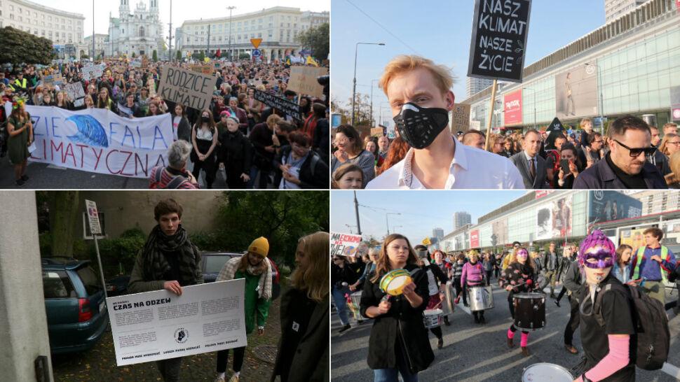 """Młodzi chcą zmian w polityce klimatycznej. """"Chcielibyśmy konkretów"""""""