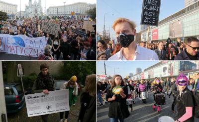 """Młodzi domagają się zmian w polityce klimatycznej. """"Chcielibyśmy konkretów"""""""
