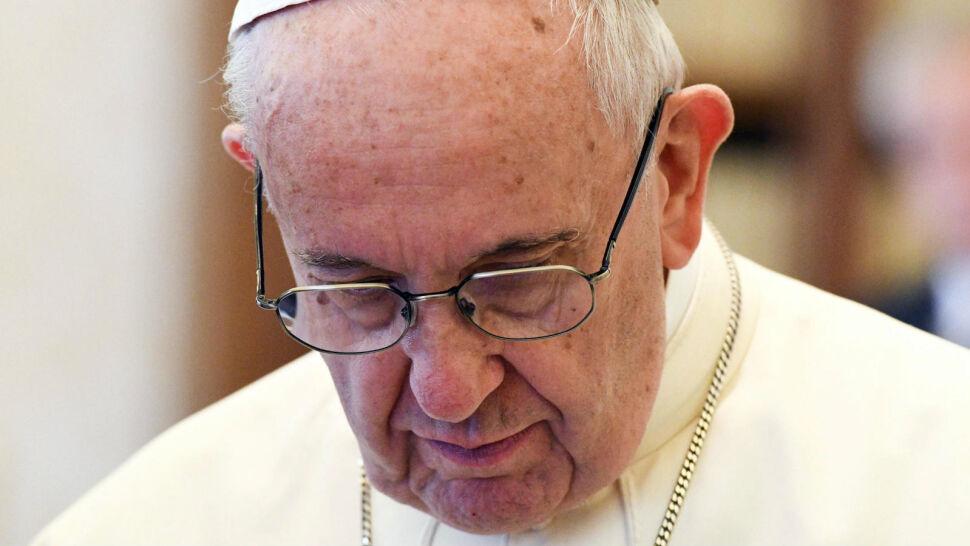 Papież ubolewa: tylko nieliczni podawali mi rękę