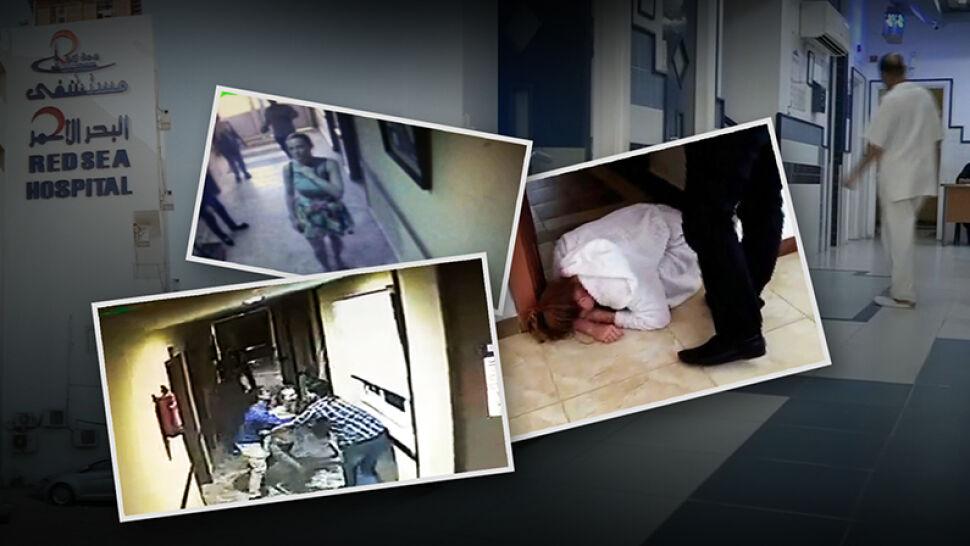 Nowe nagrania z monitoringu, rozmowa z egipskim lekarzem. Reporter TVN24 w Hurghadzie