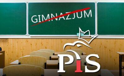 28.10.2015 | PiS chce likwidacji gimnazjów. Zmiany w systemie możliwe już 1 września?