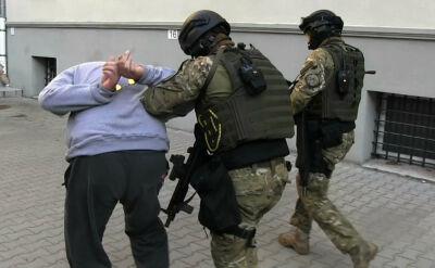 Akcja policji przeciwko podejrzanym o handel ludźmi. Zatrzymano siedem osób