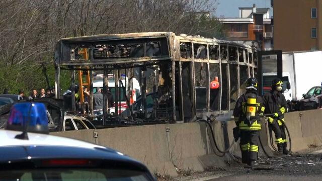 """""""Rozlał benzynę i zabrał nam telefony"""". Dzieci o porywaczu autobusu"""