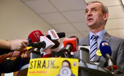"""""""Równi i równiejsi"""" w dialogu. Szef ZNP obawia się rozbicia jedności nauczycieli"""