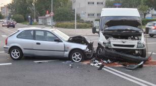 Wypadek na Tarchominie.