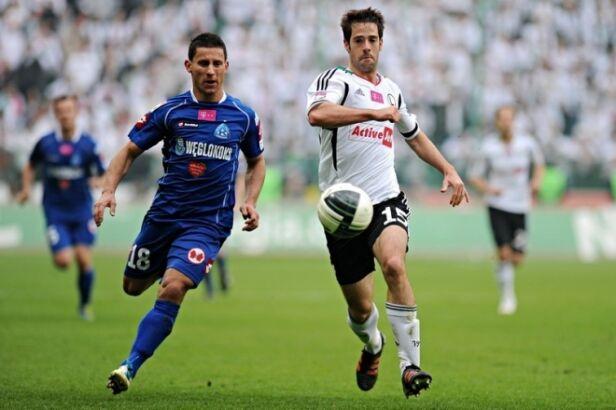 Legia zagra z Ruchem Mateusz Kostrzewa / legia.com