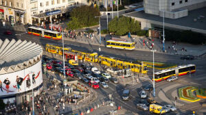 Przejścia dla pieszych na jezdni przy Rotundzie? Wiceprezydent zlecił analizę