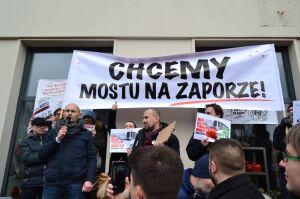 """Wawer walczy o most Na Zaporze. """"Jeśli się nie uda, wystartujemy w wyborach"""""""