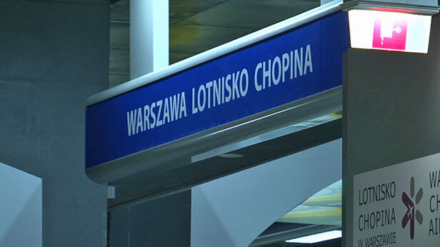 Akcja na Stacji Lotnisko Chopina tvnwarszawa.pl