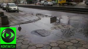 """""""Kałuże na jezdni, fontanny dla pieszych"""""""