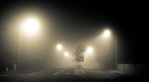 Drivers, gas feet. Fogs may be dense at night