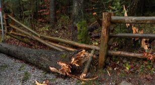 Trudne warunki w Tatrach.