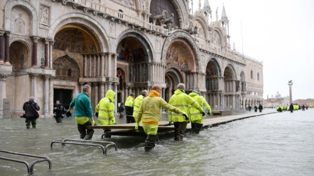 Dramatyczny apel Włoch  do świata o pomoc dla Wenecji