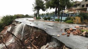 Grecja po przejściu cyklonu Zorbas.  Trzy osoby nadal zaginione