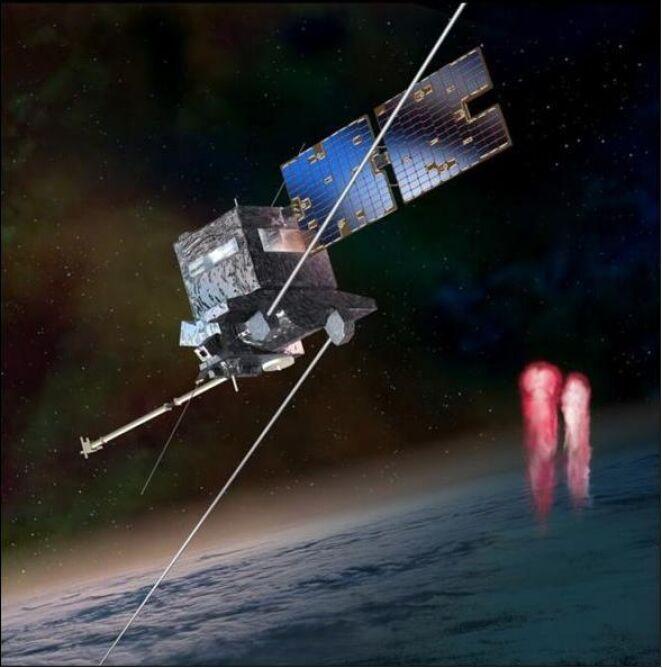 Wizualizacja mikrosatelity Taranis (CNES)