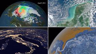 Ziemia w roli głównej. Satelitarne hity 2012 roku