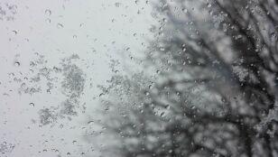 Deszcz ze śniegiem  i śnieg. Ale bez mrozu