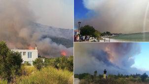 Ewakuowano setki ludzi, zaginęła turystka. Groźne pożary na południu Europy