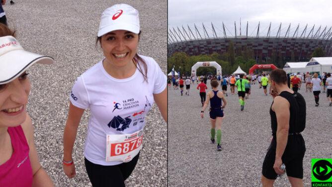 Na kilka minut przed startem Orlen Warsaw Marathon