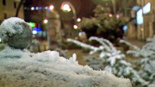 """Na Podhalu śnieg pobielił okolicę. """"Mam nadzieję, że na Wielkanoc dosypie"""""""