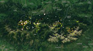 Burze w Tatrach. Sprawdź, gdzie grzmi
