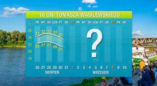 Wasilewskiego prognoza pogody na 16 dni: ochłodzenie dopiero we wrześniu