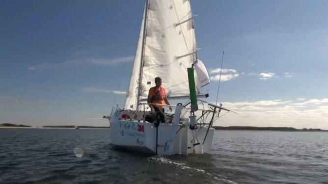 Szymon Ruban i jego samotna wyprawa przez Atlantyk