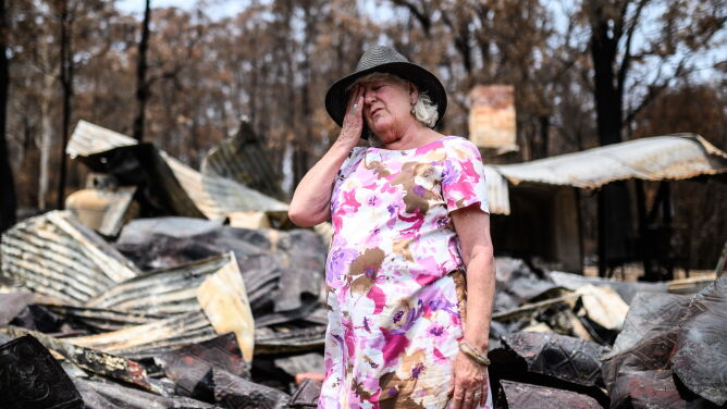 Katastrofalne pożary w Australii. <br />Rozmiar zniszczeń na zdjęciach