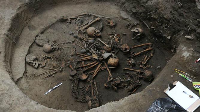 Szkielety ułożone w kształt Drogi Mlecznej. Tajemnicze odkrycie w Meksyku