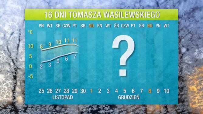 Prognoza pogody na 16 dni: <br />czeka nas zimowy incydent