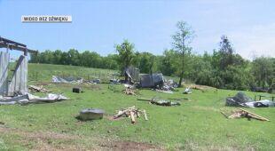 Tornado przeszło przez farmę w Karolinie Południowej